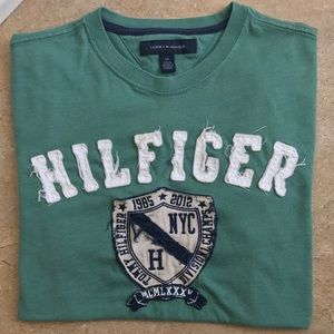 TOMMY HILFIGER Embroidered Short Sleeve T-shirt